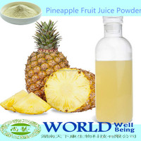 Factory Supply 100% Natural Organic Fresh Pineapple Fruit Powder/Pineapple Juice Powder/Pineapple Juice Concentrate