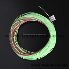Double color weight forward floating with sinking tip fly fishing line