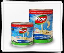 Vega Evaporated Milk
