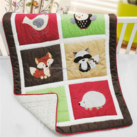 Patchwork Embroidery High Quality Goodway Baby Quilt