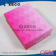 A4 size custom fashion flat decorative boxes