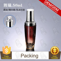 Vitamin E Eye Cream Pack In 50ml Glass Pump Bottle