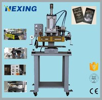 Auto hot stamping machine for making pvc card