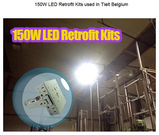 Led Retrofit Kits 120watt Replace 400w Hps Mh Pole Street