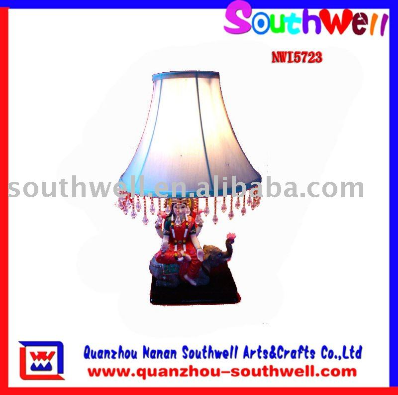 Desk Lamp With Ganesh Decoration