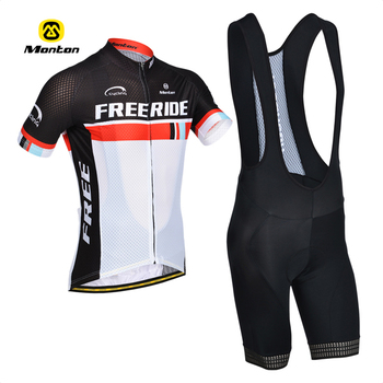 Hot Selling New Cycling Clothing short sleeve jersey bib shorts suit wholesale Good Price mens bicycle sports wear