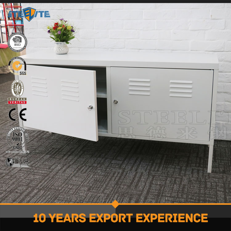 Modern cold rolled steel furniture design corner tv stands/tv cabinet made in China