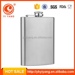 Best selling stainless steel quality hip flask 8oz