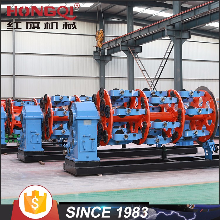 Planetary type electric cable / wire manufacturing machine copper stranding line