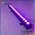 1meter18*12W RGBW indoor led bar light led wall washer