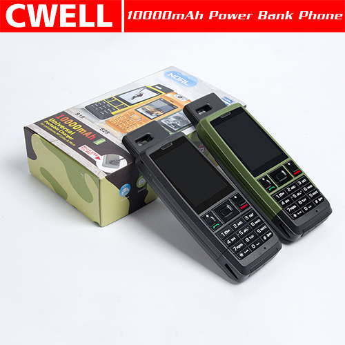S18 3 SIM Card 4200mAh Big Battery Power Bank GSM Quad Band low price china mobile phone