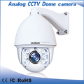 "High Quality 1/4"" LG CCD 650TVL Analog Dome ptz cctv Camera"