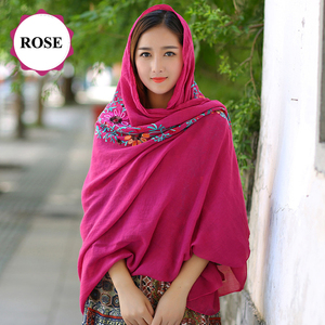 wholesale women arabic scarf malaysia embroidery muslim hijab
