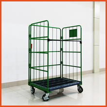Supermarket Warehouse Used Wire Roll Container/ Storage Cage