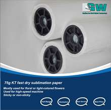 Sticky/ Sami Sticky/ Non Sticky Sublimation Transfer Paper