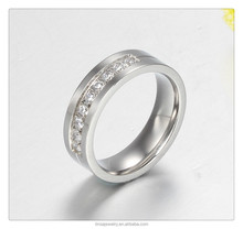 Fashion Silver Rings China supplier wholesale bulk sale stainless steel jewelry JDR039