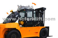 12-16ton internal combustion counter balance forklift with chinese engine