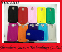 For Samsung i9500/galaxy S4 Tire design TPU Case with a bumper Color Paypal is accepted