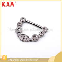 Wholesale china cheap metal gold shoe accessories shoes buckle