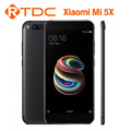 Newest Original Xiaomi 5X mi5X 4G RAM 64G ROM double back camera Qualcomm Snapdragon 625 Octa Core 5.5inch 3080mah battery