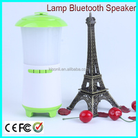 Lamp shape portable speaker support usb flash drive fm radio with LED