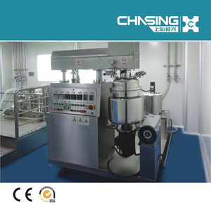 Shanghai Chasing mixing tank vacuum stirring vessel high speed Syrup mixing tank& Industrial Food Mixer&Jam Mixer