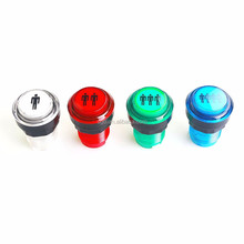 32mm push button starter switch double pole for arcade game machine