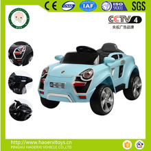 2016 new toys 4 wheel electric car for kids with remote