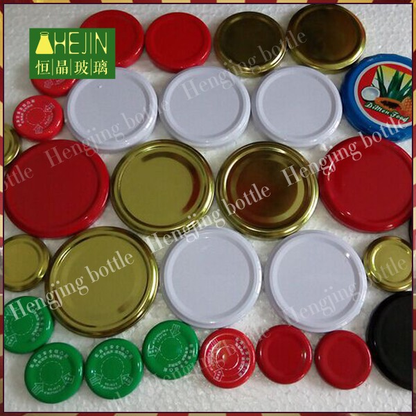 82mm metal twist off caps for bottle,lids for canning jars