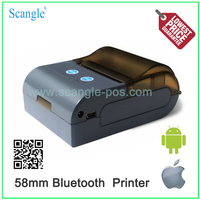 Low Price 58mm mini portable bluetooth printer