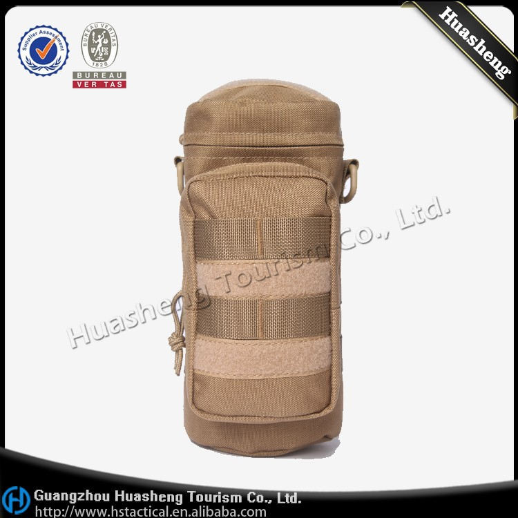 Popular Outdoor Camping Hiking Tactical Military Water Bottle Bag Wholesale