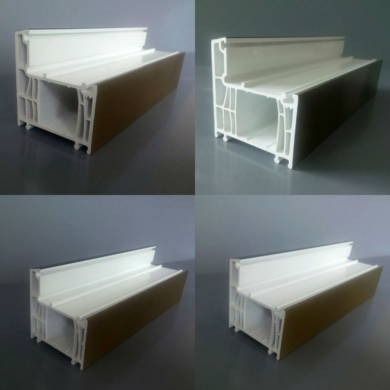 Sound Proof High Quality and Cheap Double Hung PVC Plastic Window Profiles