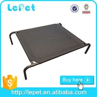 Manufacturer wholesale elevated metal frame Pet dog bed iron pet bed for dogs