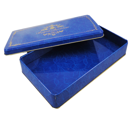 Food safe custom rectangular chocolate tin box
