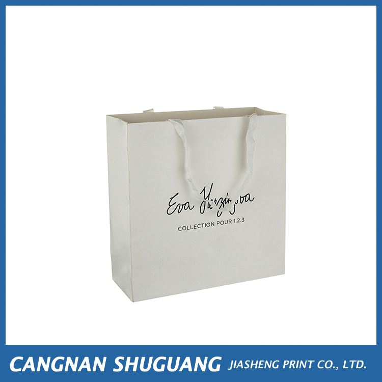 Latest product good quality euro tote paper shopping bag