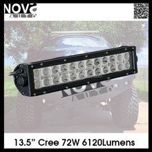 Offroad Accessories 13.5 Inch 72w Dual Row Car Light Bar,Led Light Bar,Car Led Light For Grille