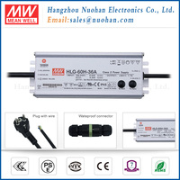 Mean well HLG-60H-36B 36V 60w dimmable driver IP67 led driver