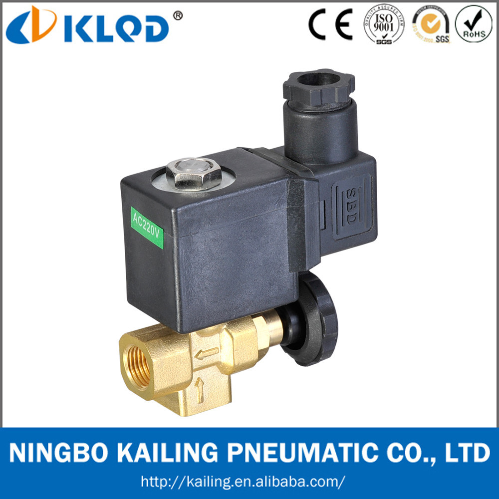 "KLTJ-08 <strong>1</strong>/4"" direct acting brass material adjustable steam valve for steam iron"