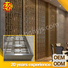 commercial folding partition wall metal room divider folding screen door