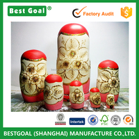 High quality 7 layers Arabic design fashion Russian doll home decoration birthday gifts new year gifts Russian doll
