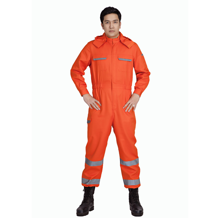 100% cotton flame retardant overalls with factory price