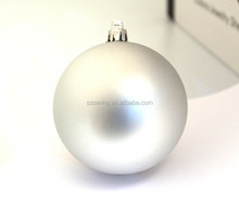 high quality wholesale plastic mirror finish seamless christmas ball