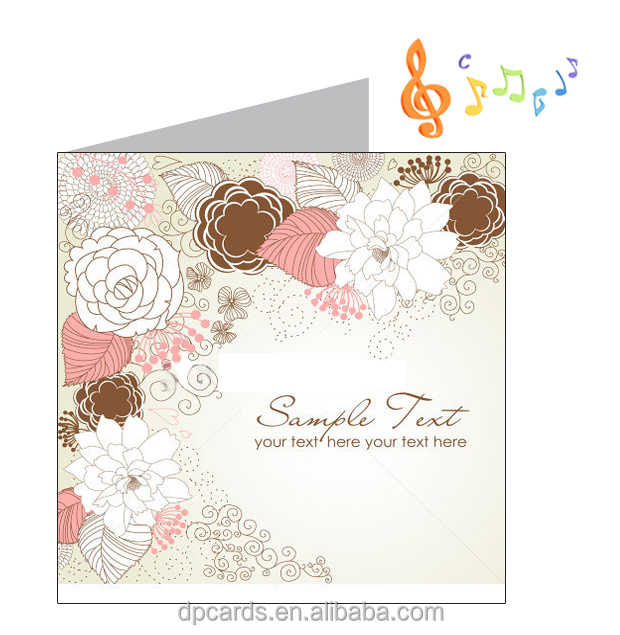 2016 latest music wedding invitation card designs