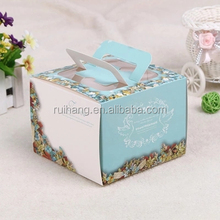 customized wedding cake box design