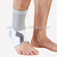 4-way stretch ankle support with elastic strap