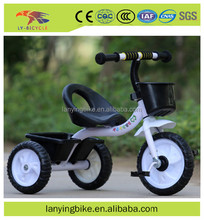 2017 china wholesale new model three wheel tricycle bike/baby trike with handle bar from china gold supplier