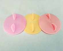 Cat ear tipo coperchio della tazza del silicone made in China