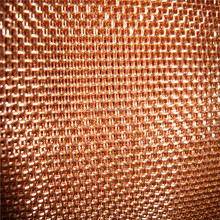 High quality red copper wire mesh magnetic shielding material