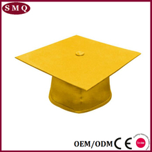 yellow shiny University Graduation Caps and gown