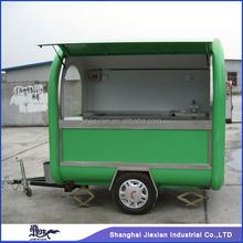JX-FR220B Professional Customized Design Outdoor Fiberglass Street Mobile Commercial electric griddle Food cart